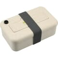 Lunch box with elastic