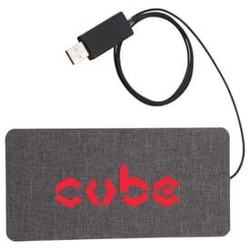 Ultra Thin Fabric Wireless Charging Pad