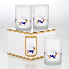 Frosted Set of 4 Gift Set