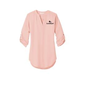 Ladies' Port Authority® 3/4-Sleeve Tunic Blouse