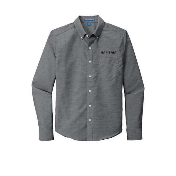 Port Authority® Untucked Fit SuperPro™ Oxford Shirt
