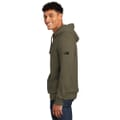 Side view of hoodie