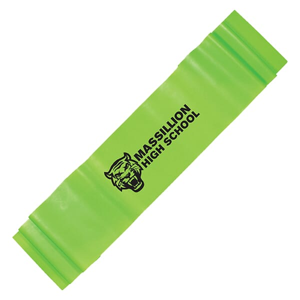 Green exercise stretch band