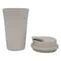 Tumbler with lid off