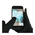 Gloves in use