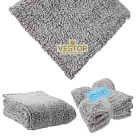 """St. Cloud 50"""" x 60"""" Frosted Sherpa Blanket"""