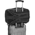Backpack on luggage