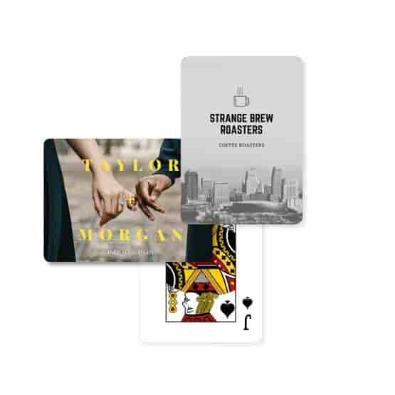 Custom Backs Playing Cards