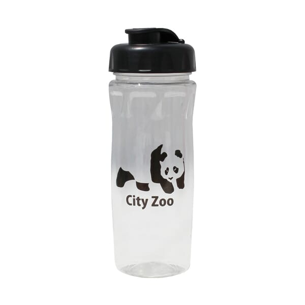 18 oz Poly-Saver PET Bottle with Flip Top Cap
