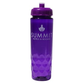 24 oz Poly-Saver PET Bottle with Push 'N Pull Cap