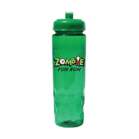 24 oz Poly-Saver PET Bottle with Push 'N Pull Cap- Full Color Digital