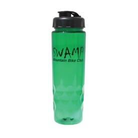 24 oz Poly-Saver PET Bottle with Flip Top Cap