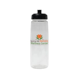 30 oz Poly-Saver PET Bottle with Push 'N Pull Cap- Full Color Digital