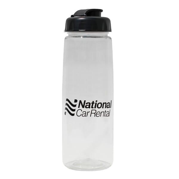30 oz Poly-Saver PET Bottle with Flip Top Cap