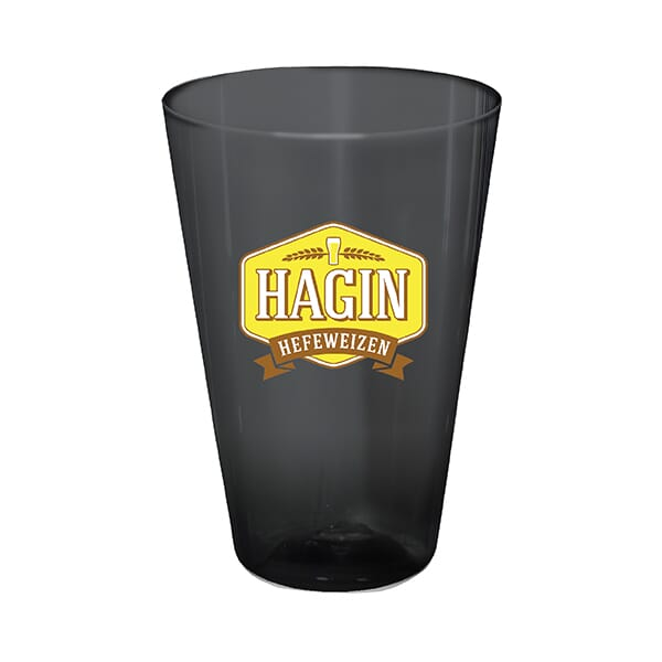 16 oz Plastic Pint Glass- Full Color Digital