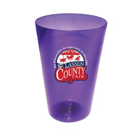 16 oz Plastic Pint Glass- Full Color Digital