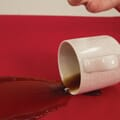 Cup spilling