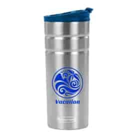 16 oz Rubbermaid® Flip Lid Stainless Steel Thermal Bottle