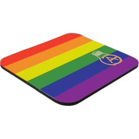 "7"" x 8"" x 1/8"" Full Color Hard Surface Mouse Pad"