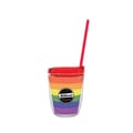 12 oz Made in the USA Tumbler w/Lid & Straw