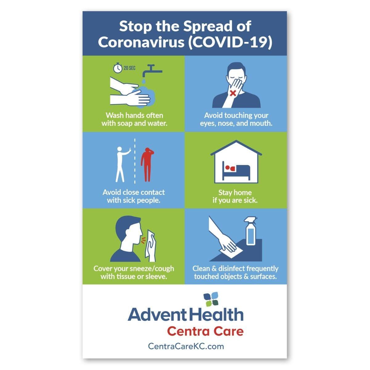 coronavirus info pamphlet
