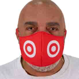 Imprinted face Covers - Pack of 12