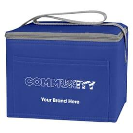 Non-Woven Six Pack Cooler Bag - Community