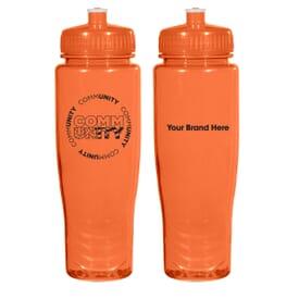 28 oz Poly-Clean™ Plastic Bottle - Community