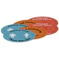 "18"" Indoor Surface Grip Circles (set of 6)"