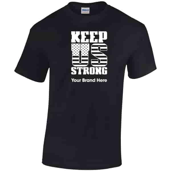 Gildan® Adult Heavy Cotton T-Shirt - Keep US Strong