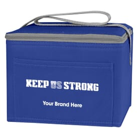 Non-Woven Six Pack Cooler Bag - Keep US Strong