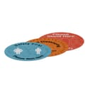 "12"" Indoor Surface Grip Circles (Set of 3)"