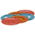 "12"" Indoor Surface Grip Circles (Set of 6)"