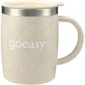 14 oz Dagon Wheat Straw Mug with Stainless Liner