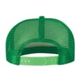 Backside of cap