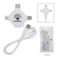 3 ft 3-in-1 Charging Cable & Adapter