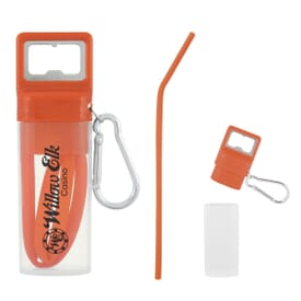 Pop and Sip Bottle Opener Straw Kit
