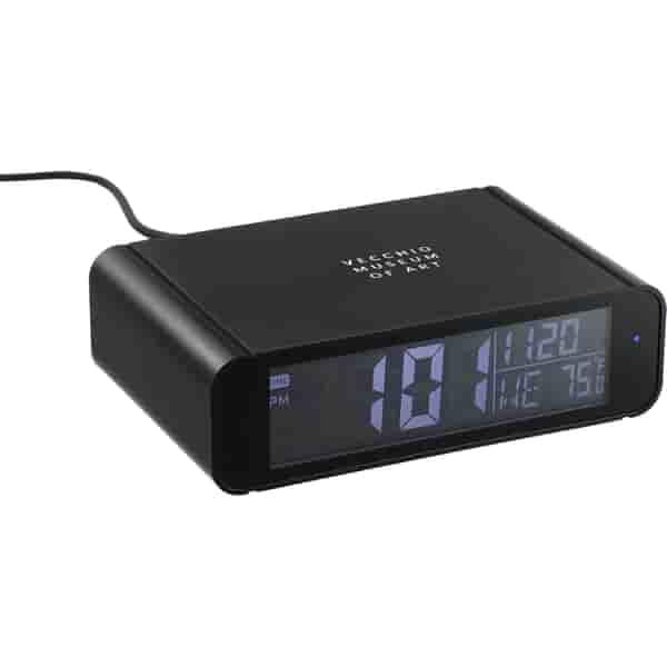 Cusp Wireless Charging Clock
