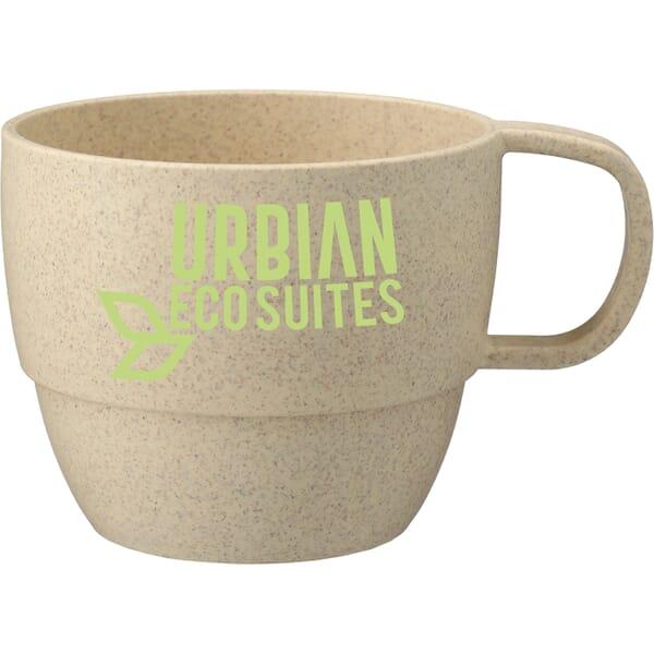 13 oz Vert Wheat Straw Mug
