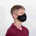Mask in use