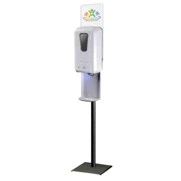 Sanitizer Station (sanitizer not included)