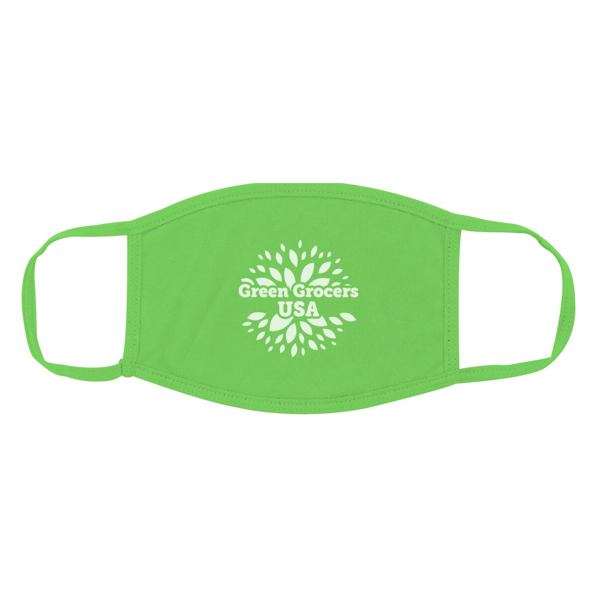 Reusable cotton face mask with logo
