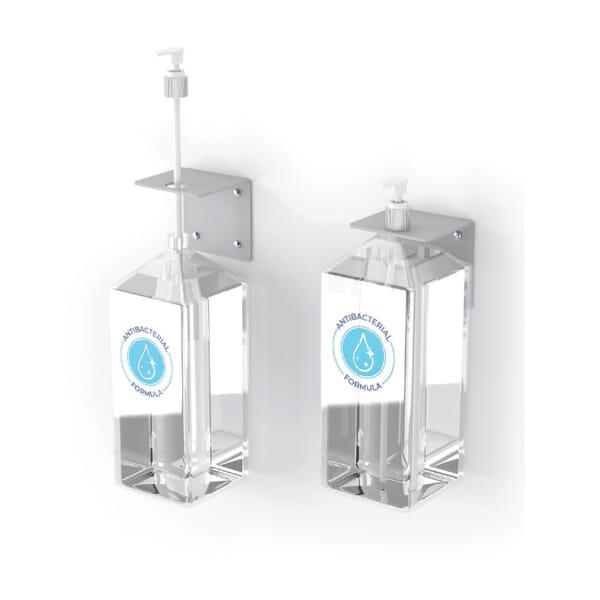 Hand Sanitizer Pump Wall Mount - Set of 4
