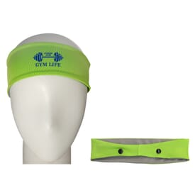 Cooling Headband with Mask Support