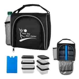 Prep & Chill Lunch Cooler With Container Set