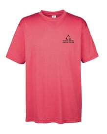 Men's UltraClub® Cool & Dry Heathered Performance T-Shirt