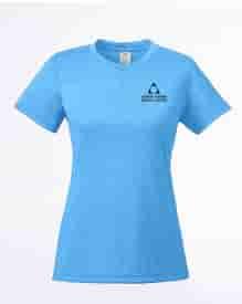 Ladies' UltraClub® Cool & Dry Heathered Performance T-Shirt