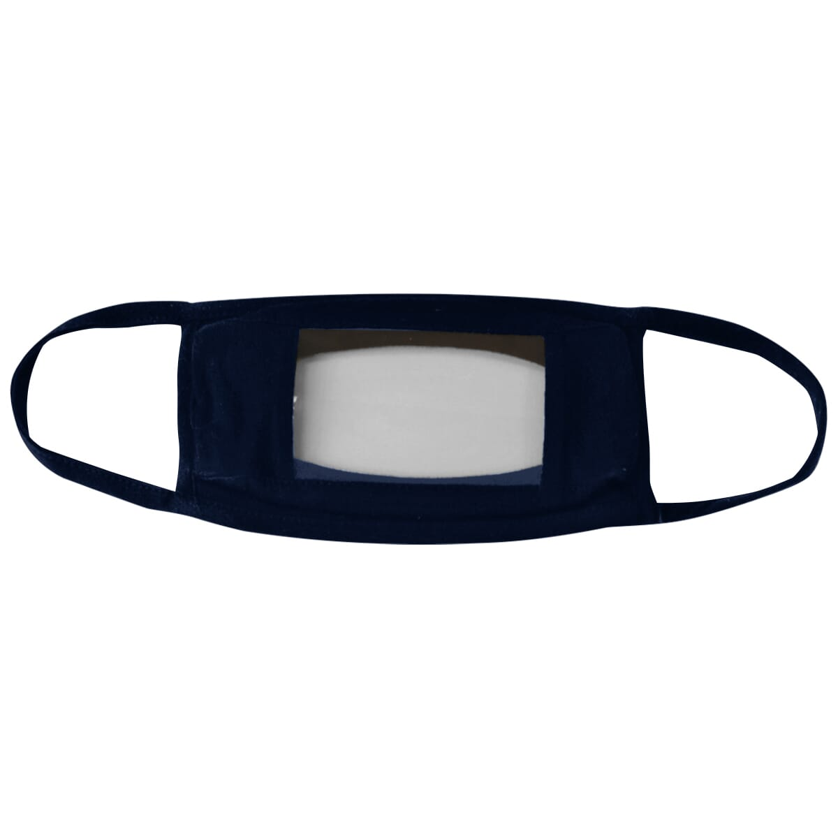 Face mask with window