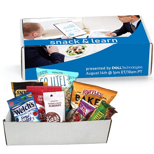 Snack box for online meetings