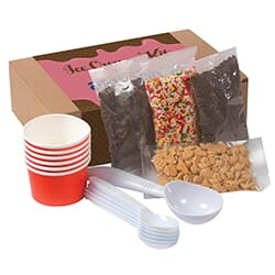 Do-It-Yourself Ice Cream Kit Box